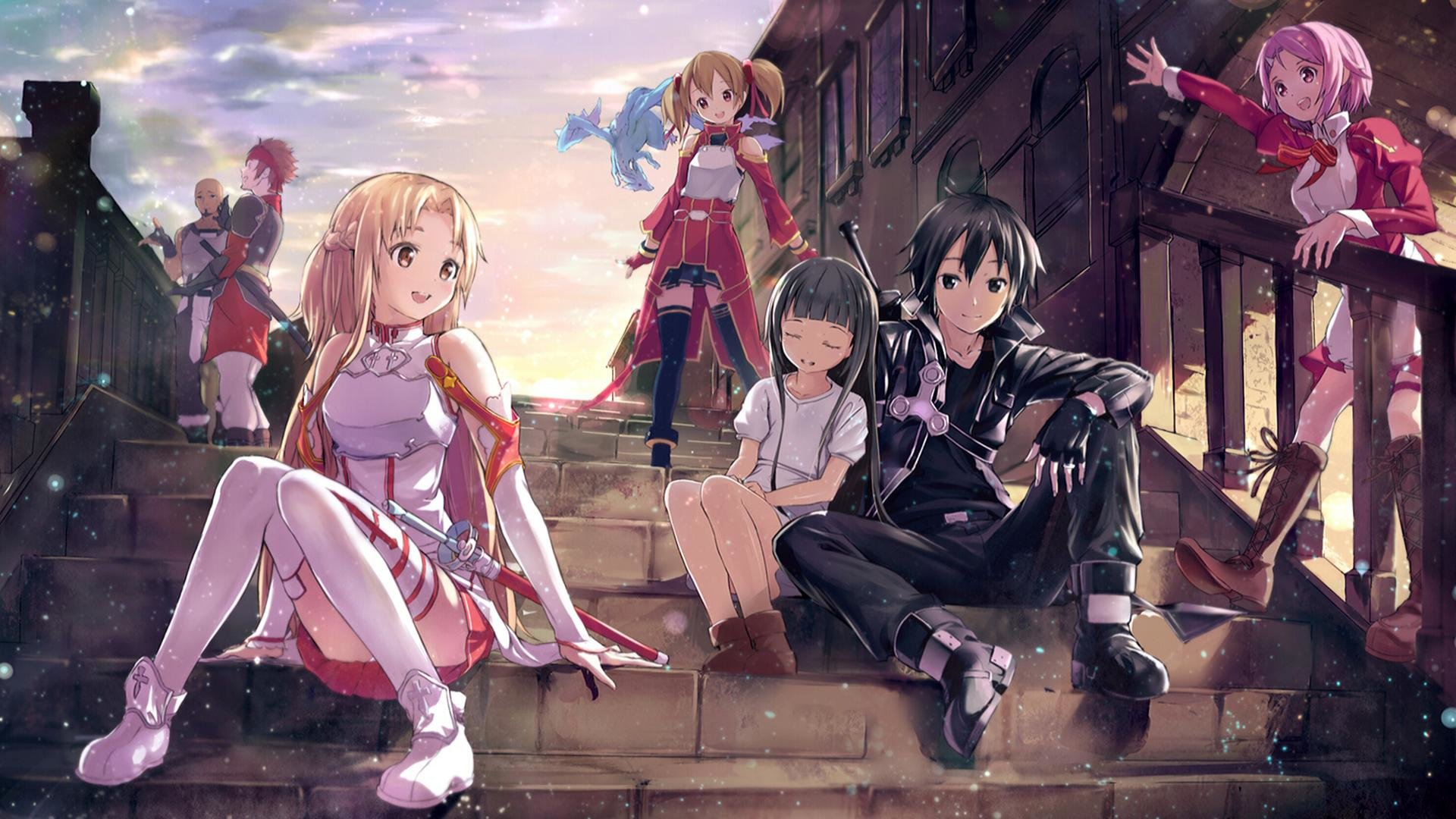 Awesome Sword Art Online Free Wallpaper Id - 1080p Sword Art Online , HD Wallpaper & Backgrounds