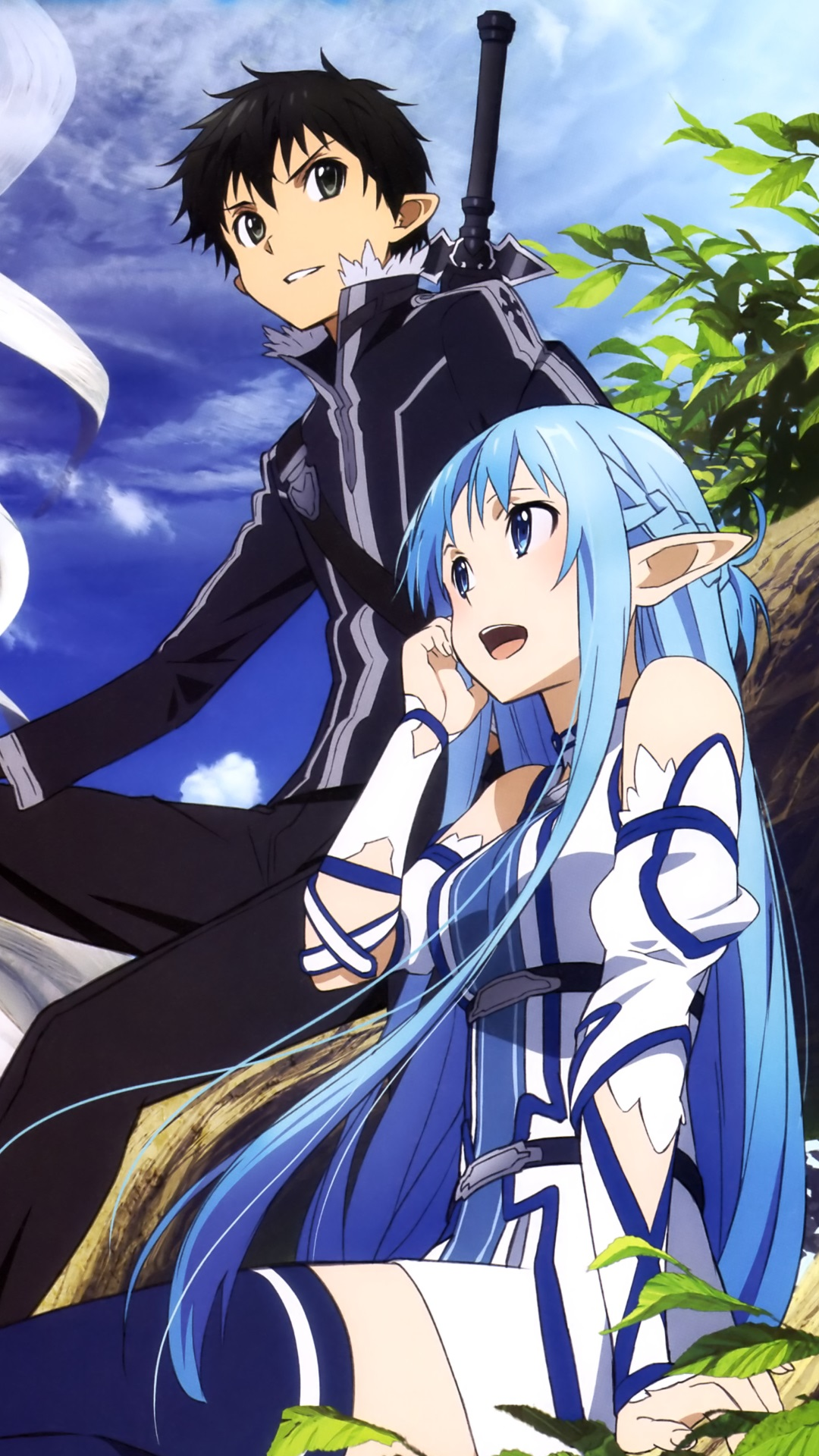 Sword Art Online 2 Kirito Asuna Sword Art Online Lost Song