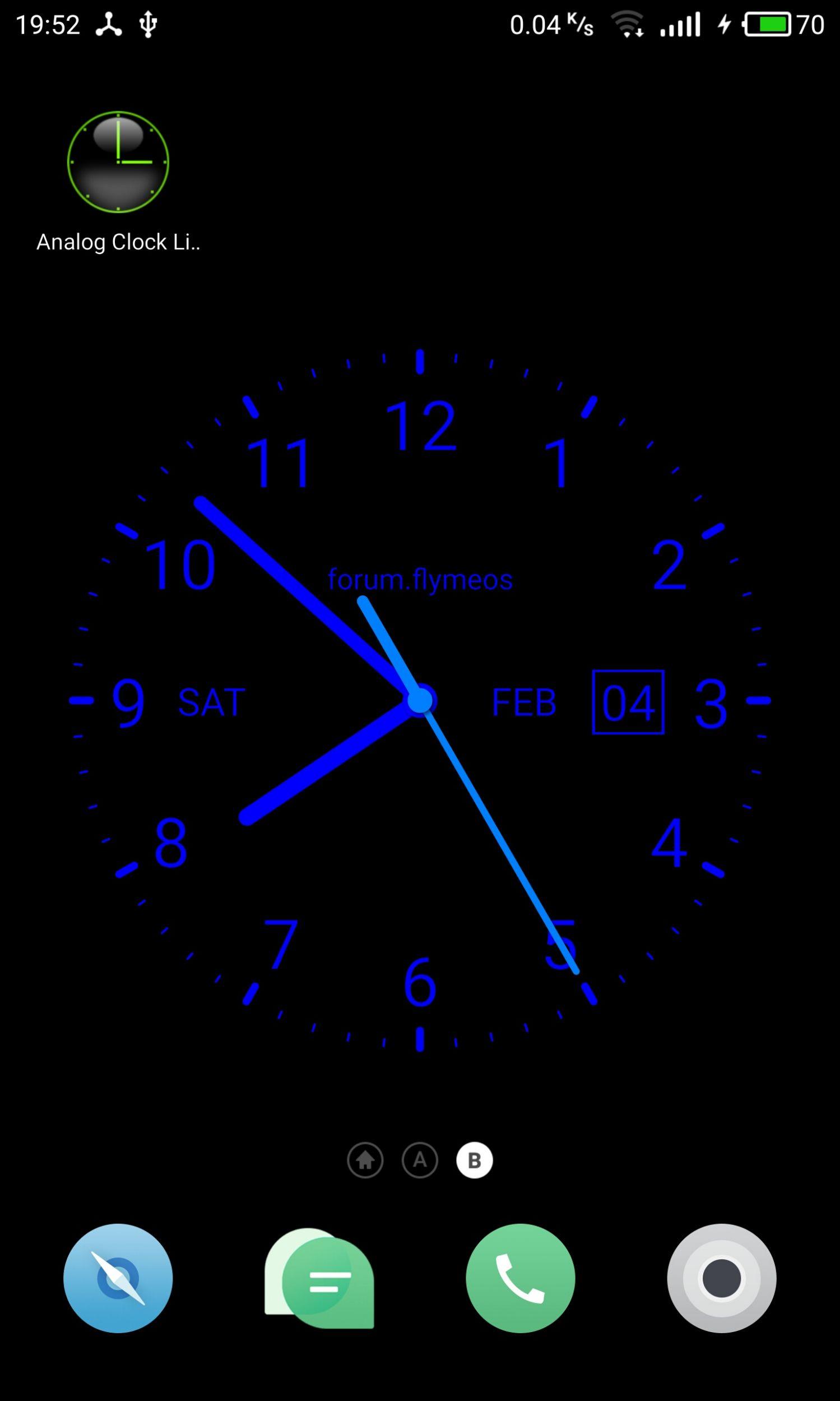 Analog Clock Live Wallpaper Wall Clock 67217 Hd Wallpaper