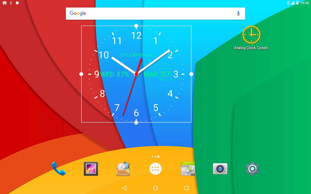 Analog Clock Live Wallpaper 7 Pro Apk - Analog Clock Live Time , HD Wallpaper & Backgrounds