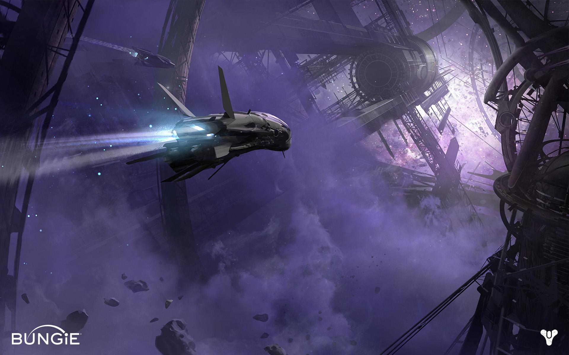Destiny Concept Art Space , HD Wallpaper & Backgrounds