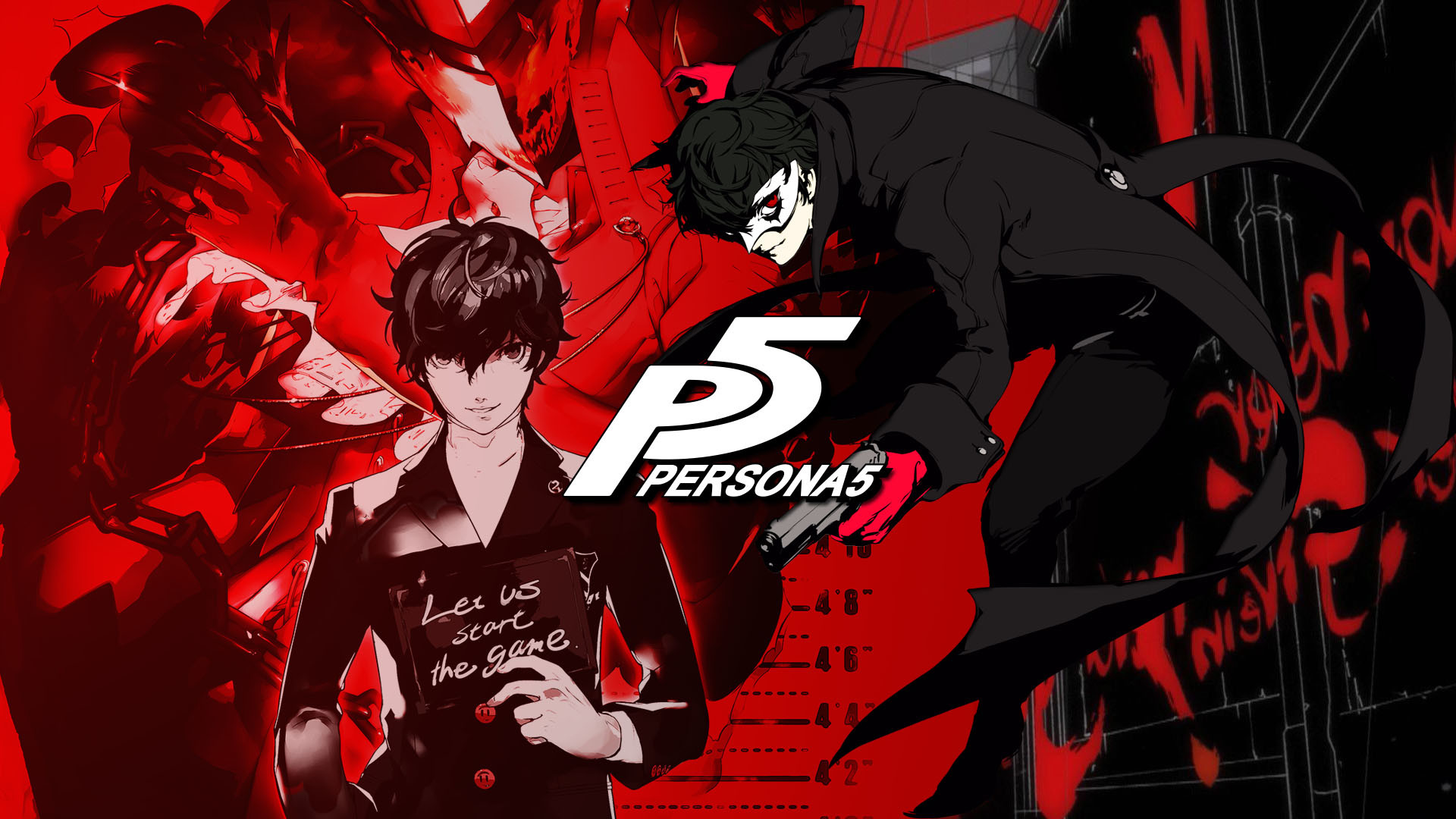 4k Anime Wallpapers Background Persona 5 Wallpaper 1440p