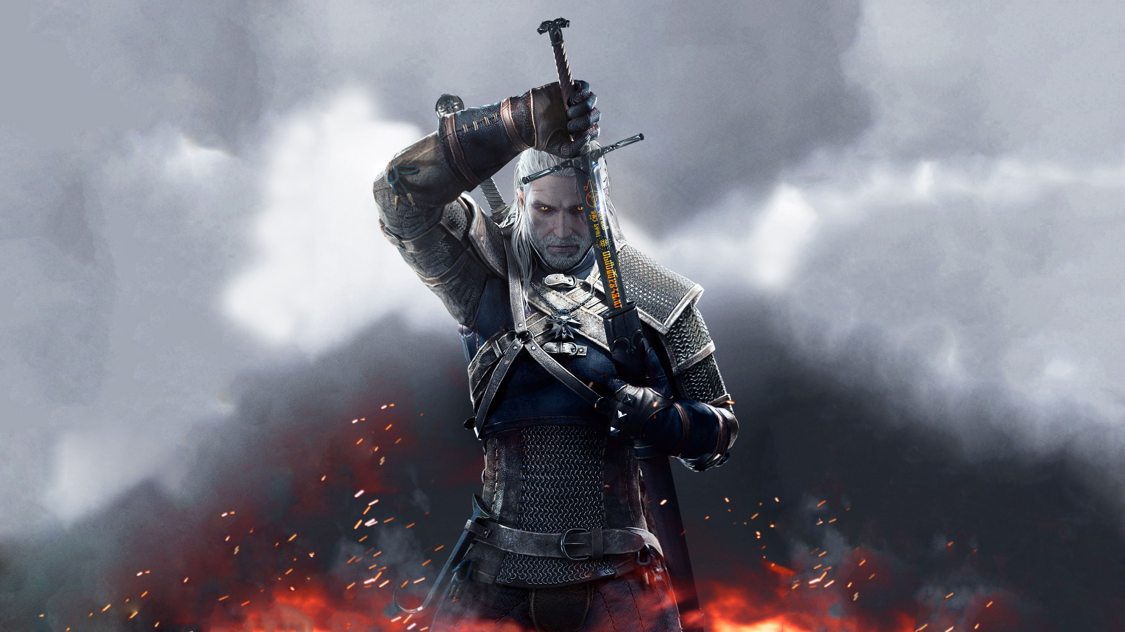 The Witcher Wild Hunt Sword Of Destiny Wallpaper Witcher 3