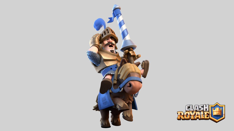 Clash Royale Blue Prince - Clash Royale Prince Png , HD Wallpaper & Backgrounds