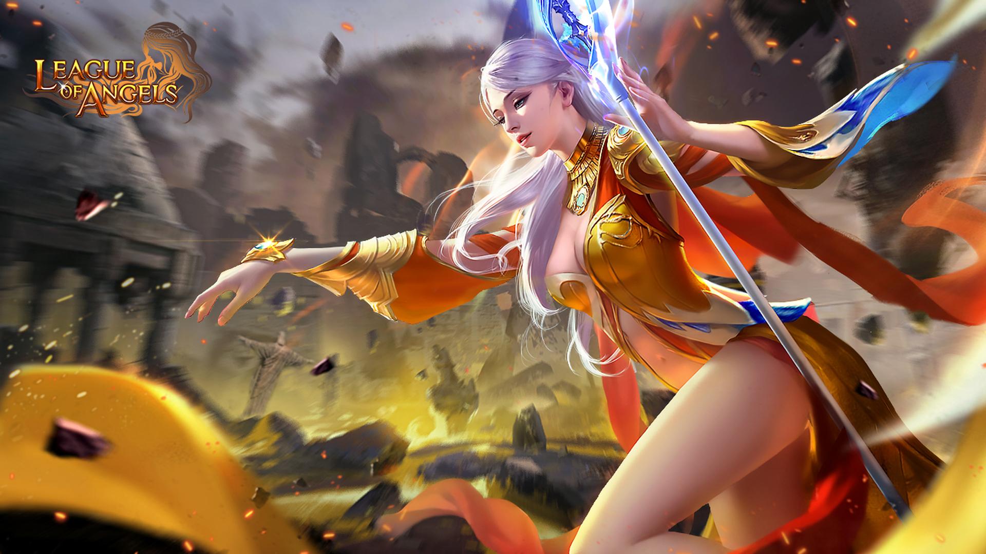 Elianna Beautiful Girl Magic Wand Skin Art League Of - League Of Legends Skin Girl , HD Wallpaper & Backgrounds