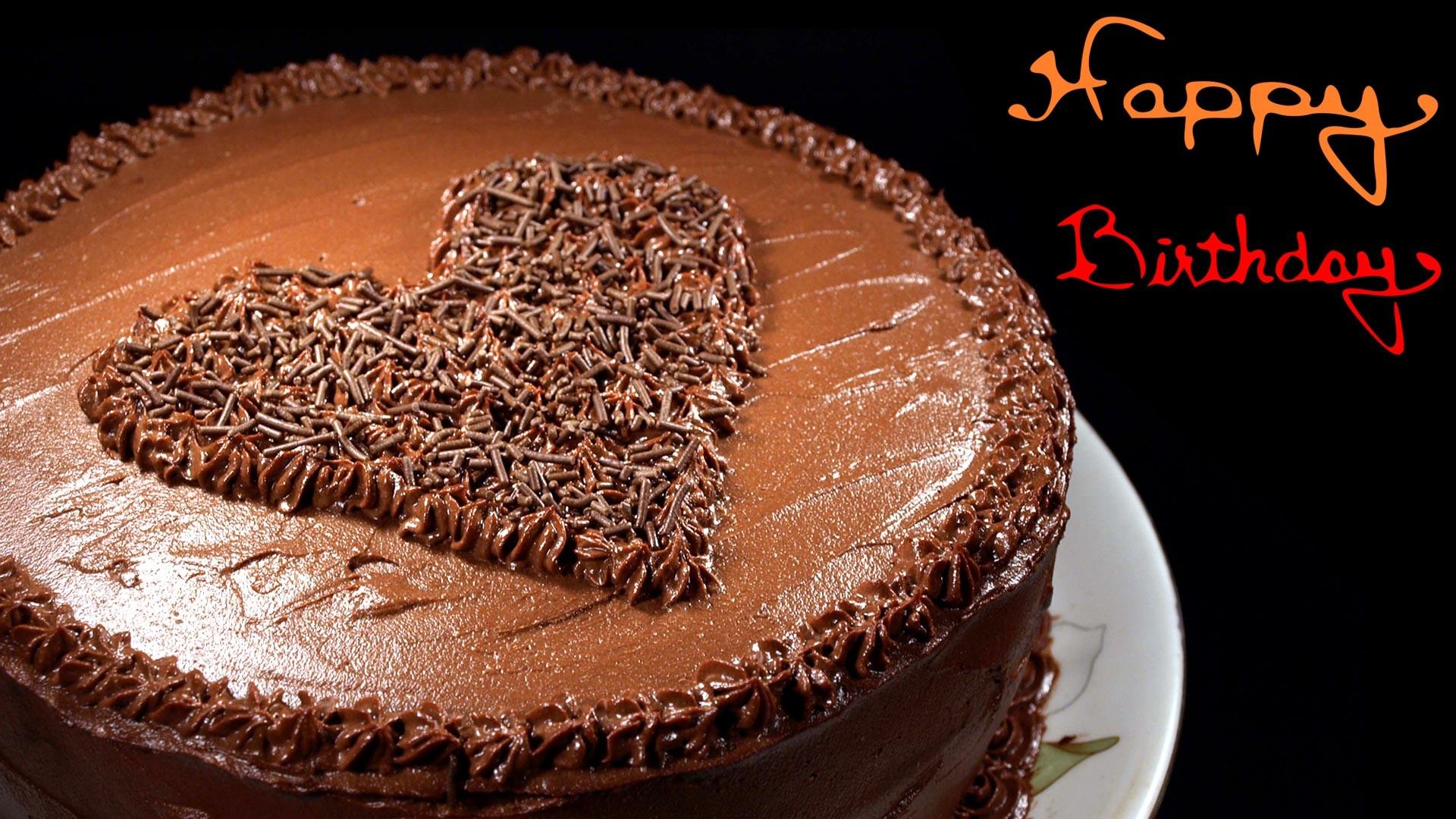 Happy Birthday Chocolate Cake Wallpaper Hd Desktop - Happy Birthday Best Friend Tamil , HD Wallpaper & Backgrounds