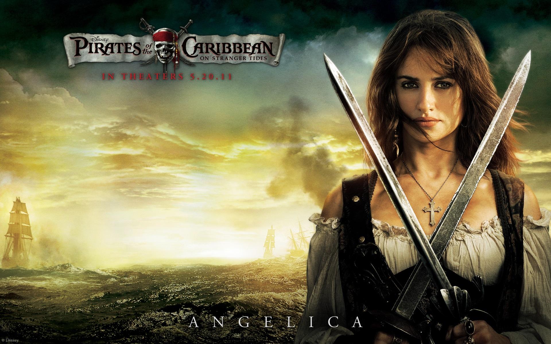 Fluch Der Karibik 4 Angelica Hd - Pirates Of The Caribbean 8 , HD Wallpaper & Backgrounds