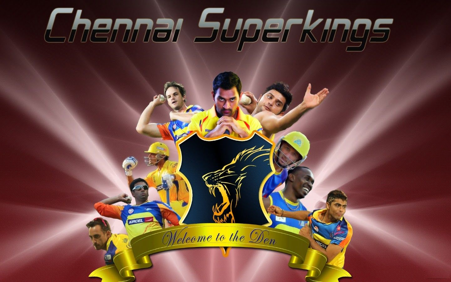 Chennai Super Kings 2015 Ipl Wallpapers Hd Download Csk