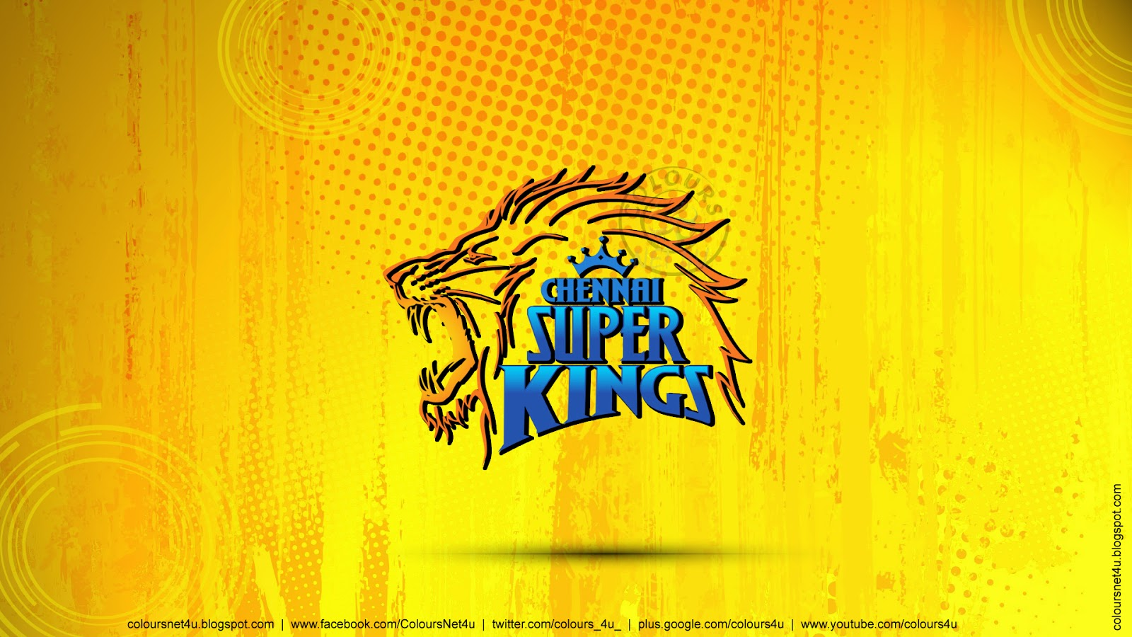 Welcome To Colours Net 4u Chennai Super Kings 601915