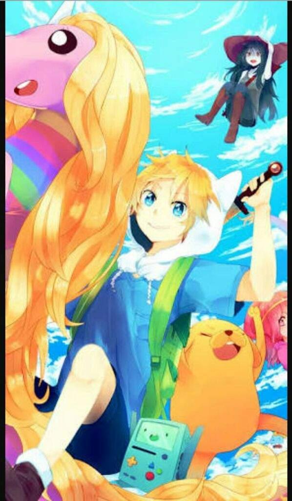 Wallpapers Do Hora De Aventura - Adventure Time Anime Wallpaper Phone , HD Wallpaper & Backgrounds