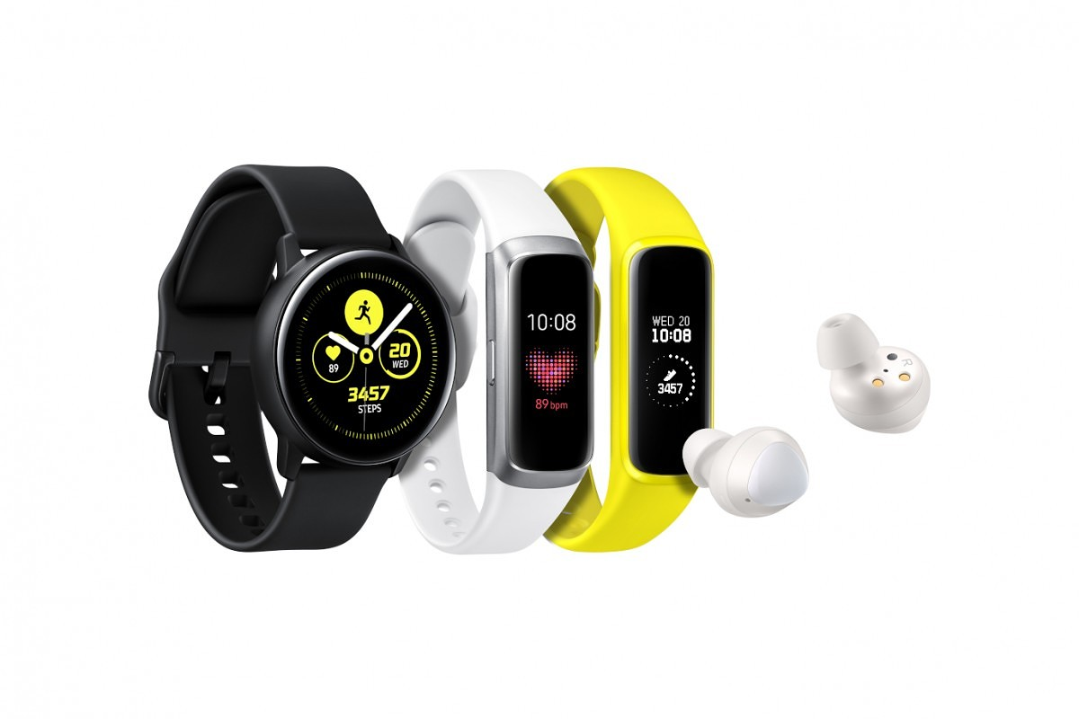 Samsung Launches The Galaxy Watch Active Smartwatch