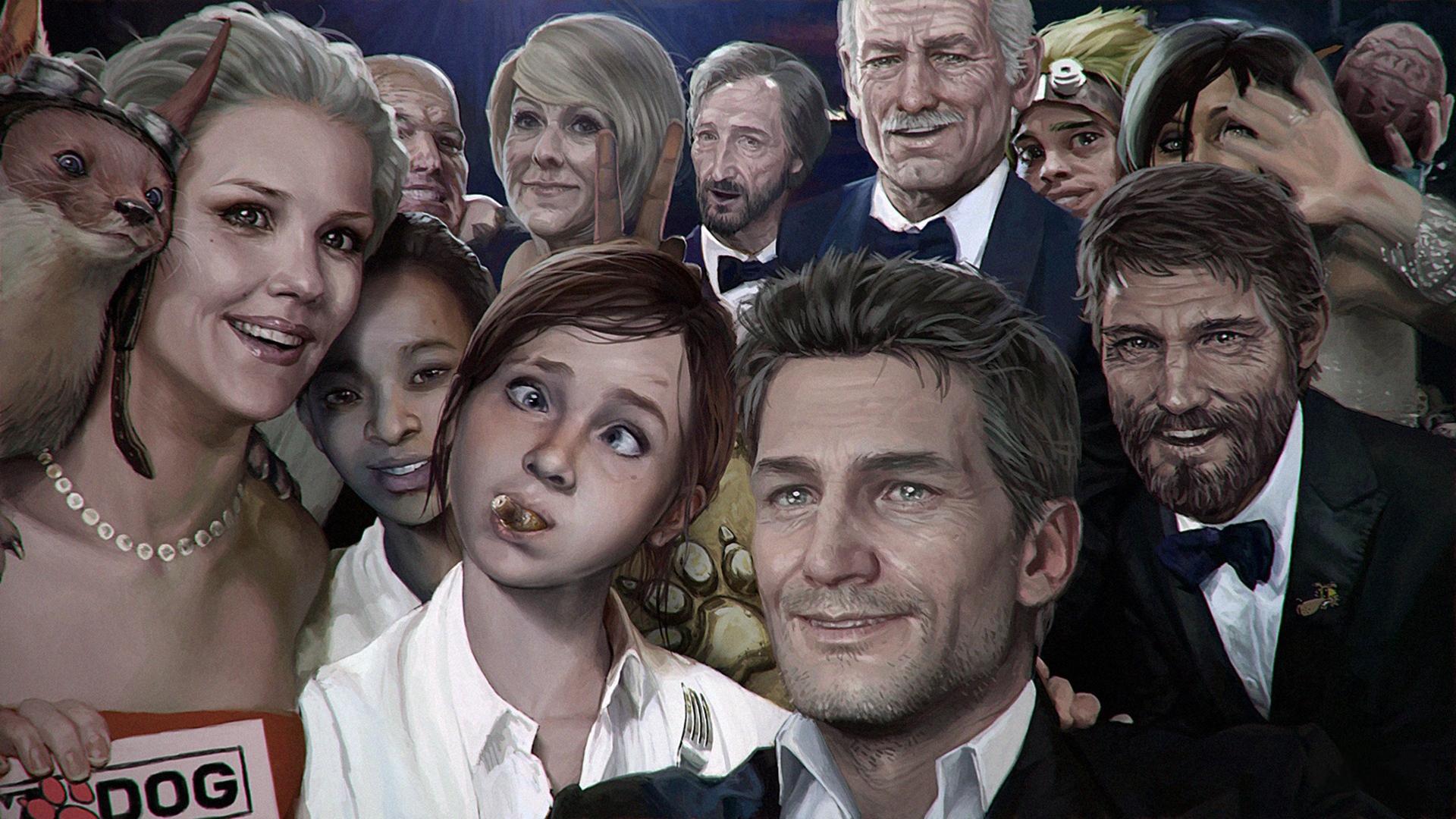 Wallpaper The Last Of Us, David, Ellie, Joel, Left - Naughty Dog , HD Wallpaper & Backgrounds