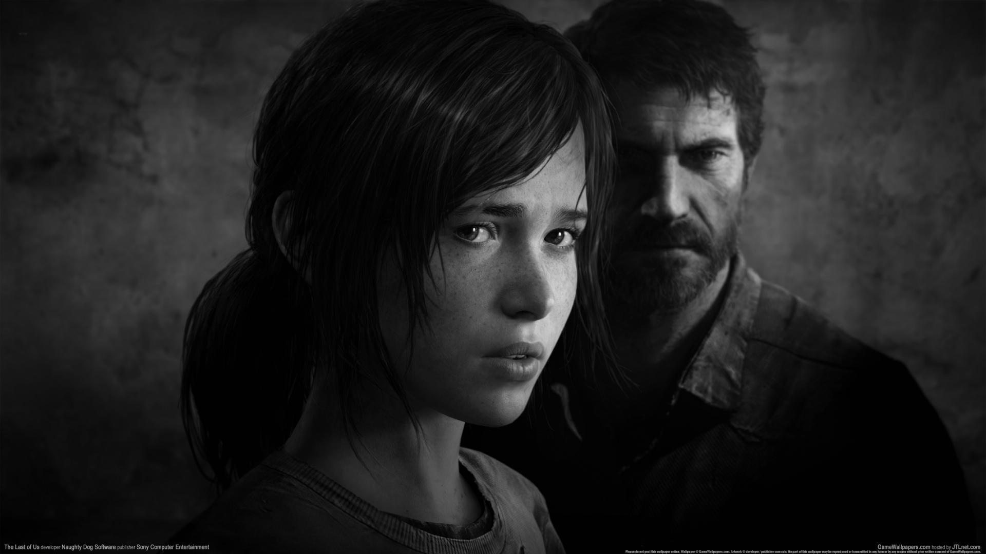 The Last Of Us Joel Ellie 1080p Hd Wallpaper Background - Last Of Us Ellie And Joel , HD Wallpaper & Backgrounds