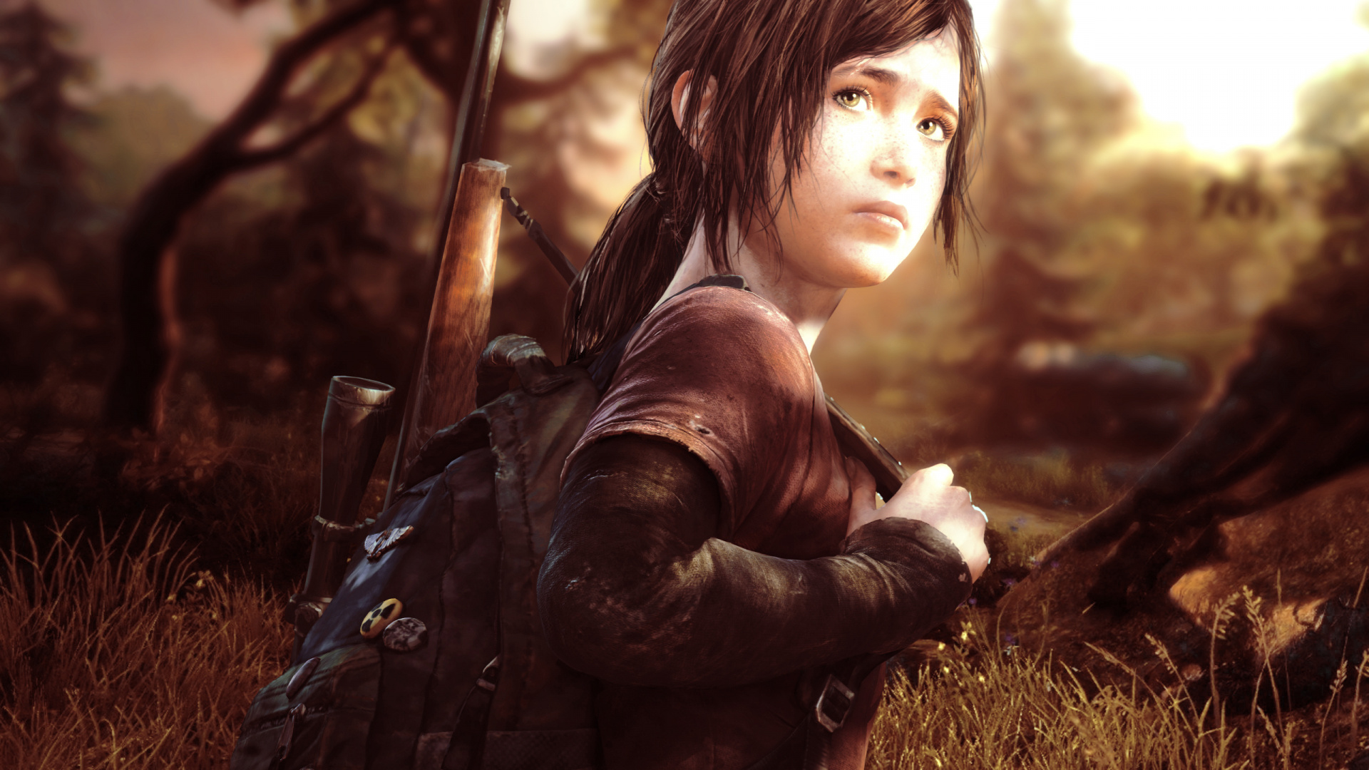 Wallpaper Ellie, Video Game, The Last Of Us - Last Of Us Ellie , HD Wallpaper & Backgrounds