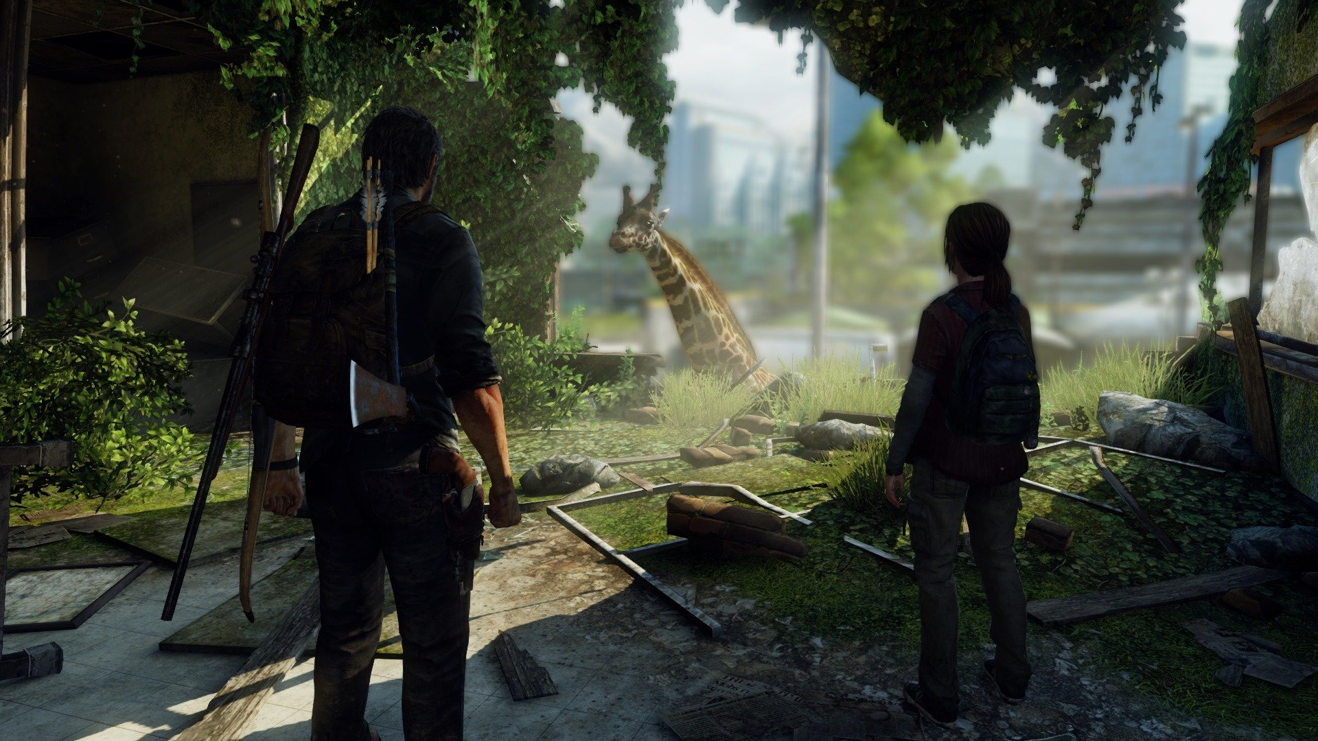 Awesome The Last Of Us Free Wallpaper Id - 1080p Wallpapers Last Of Us , HD Wallpaper & Backgrounds