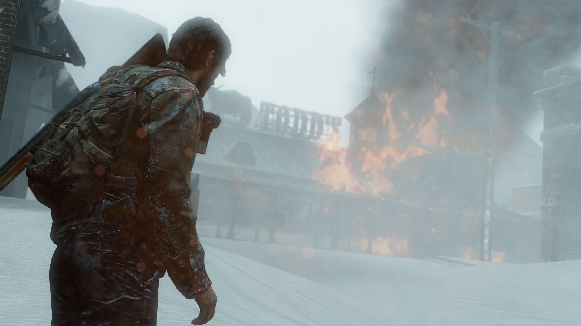 View Larger - Last Of Us Remastered Snow , HD Wallpaper & Backgrounds