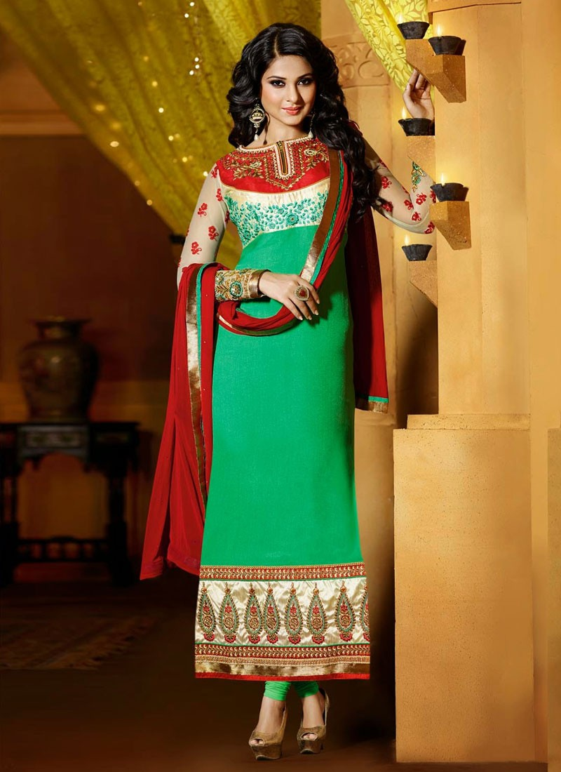 Jennifer Winget In Salwar Kameez - Silk , HD Wallpaper & Backgrounds