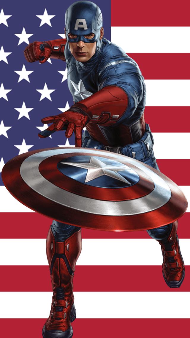 Capitao America Vingadores Capitao America Desenho 614829