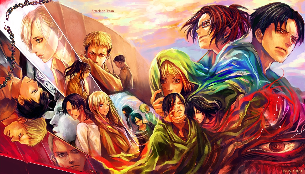 Attack On Titan Youseebiggirl 619060 Hd Wallpaper Backgrounds Download