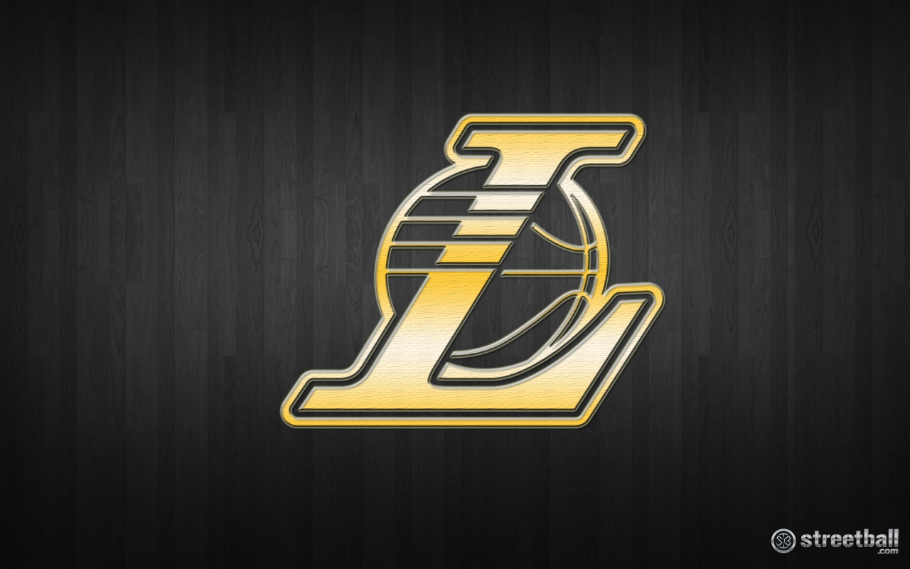 Los Angeles Lakers - Los Angeles Lakers Logo Gold , HD Wallpaper & Backgrounds