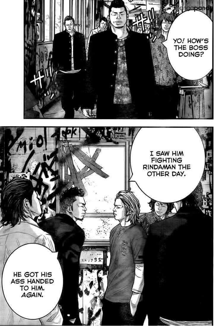 Chap 3 View Full Size Report Chap - Crow Zero Manga Suzuran Vs Housen , HD Wallpaper & Backgrounds