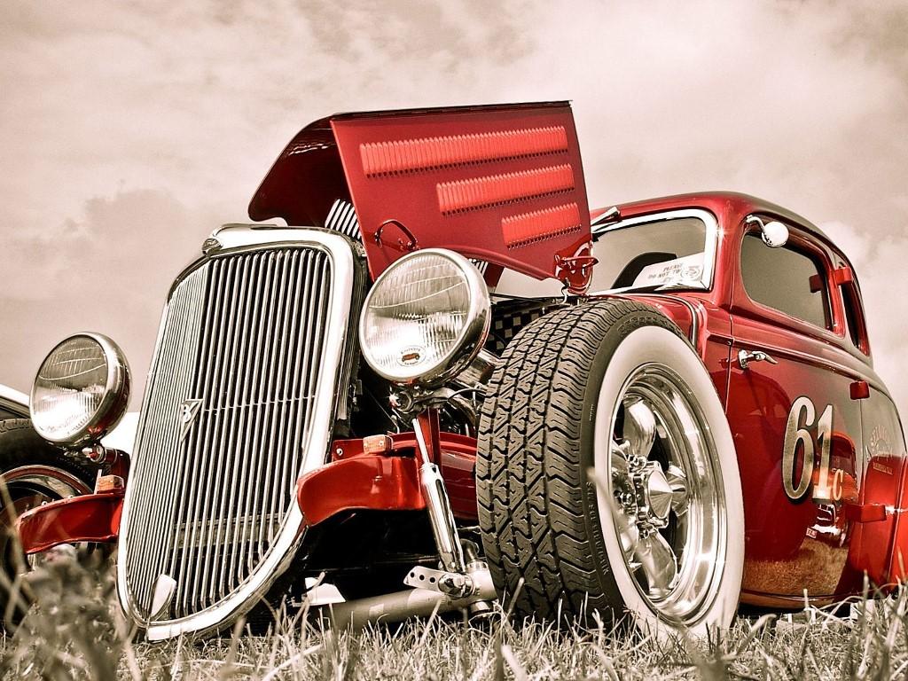 Vintage Car - Edit Background Of Cars , HD Wallpaper & Backgrounds