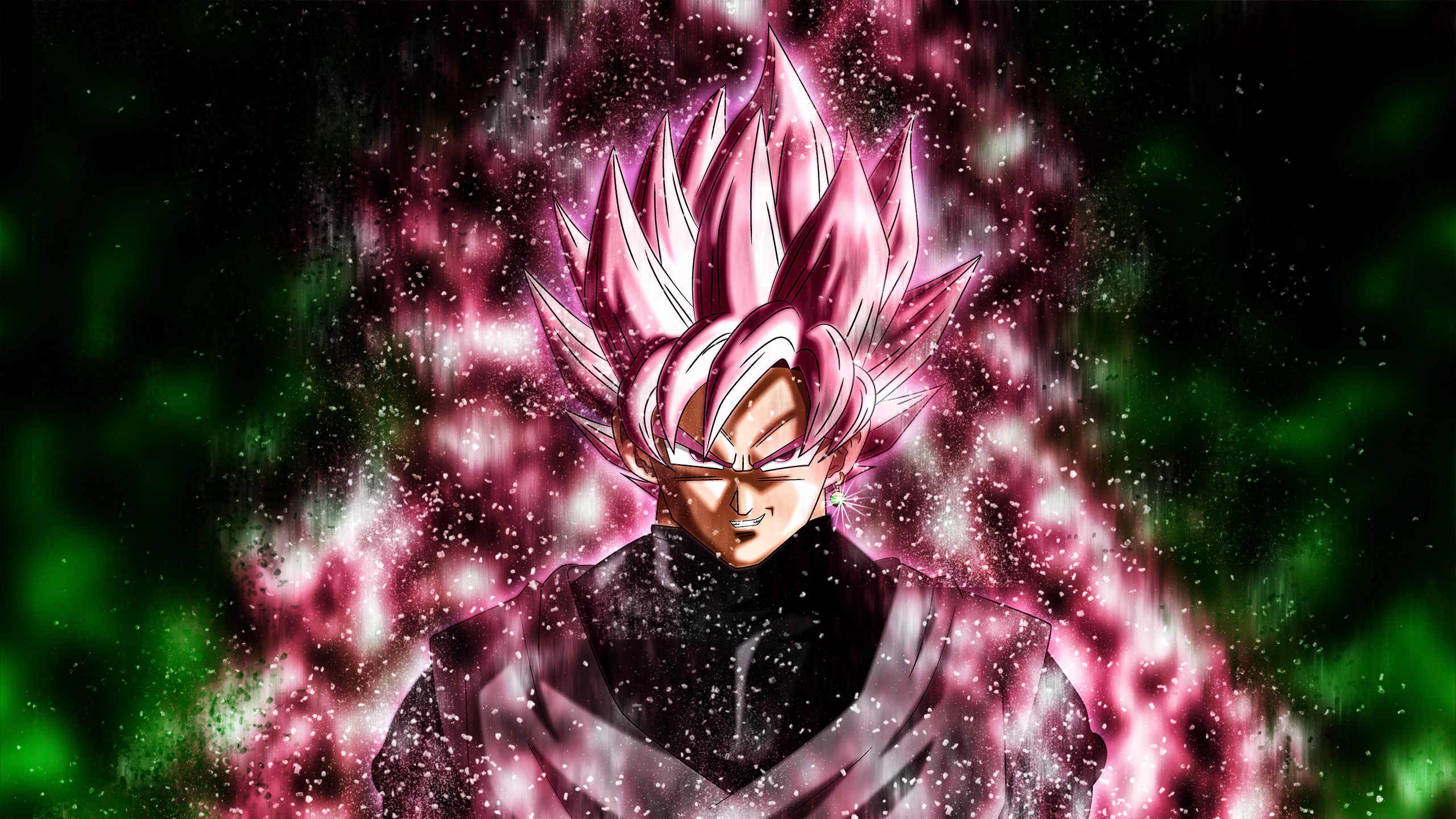 Hd Wallpaper Goku Black Super Saiyan Rose 627473 Hd