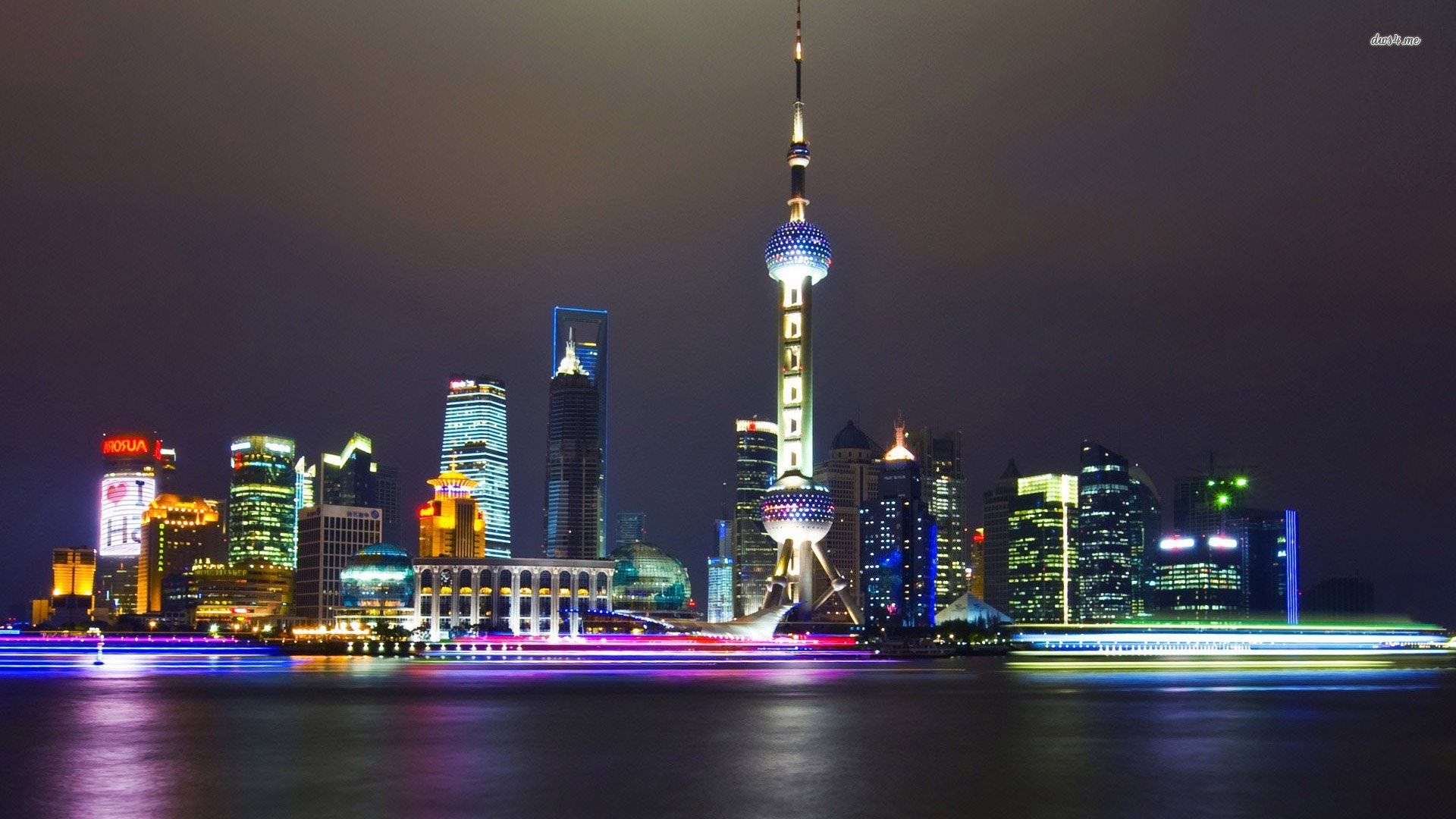 Beautiful Shanghai Wallpaper Shanghai Skyline 629357