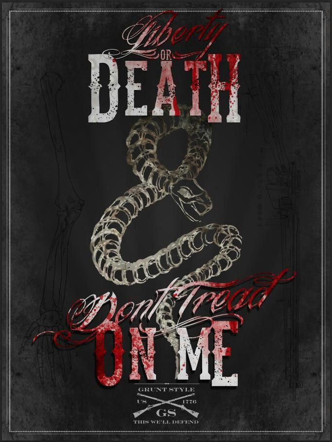 Don't Tread On Me - Poster , HD Wallpaper & Backgrounds