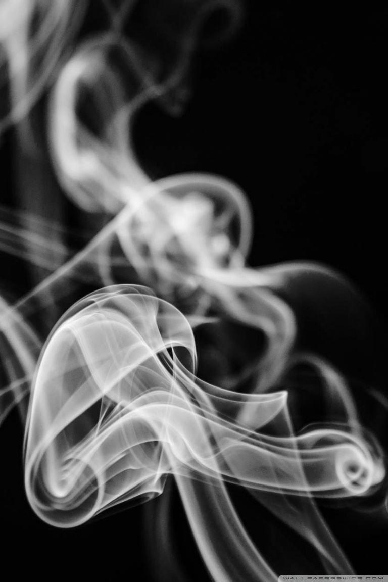 63 634577 smartphone black and white smoke