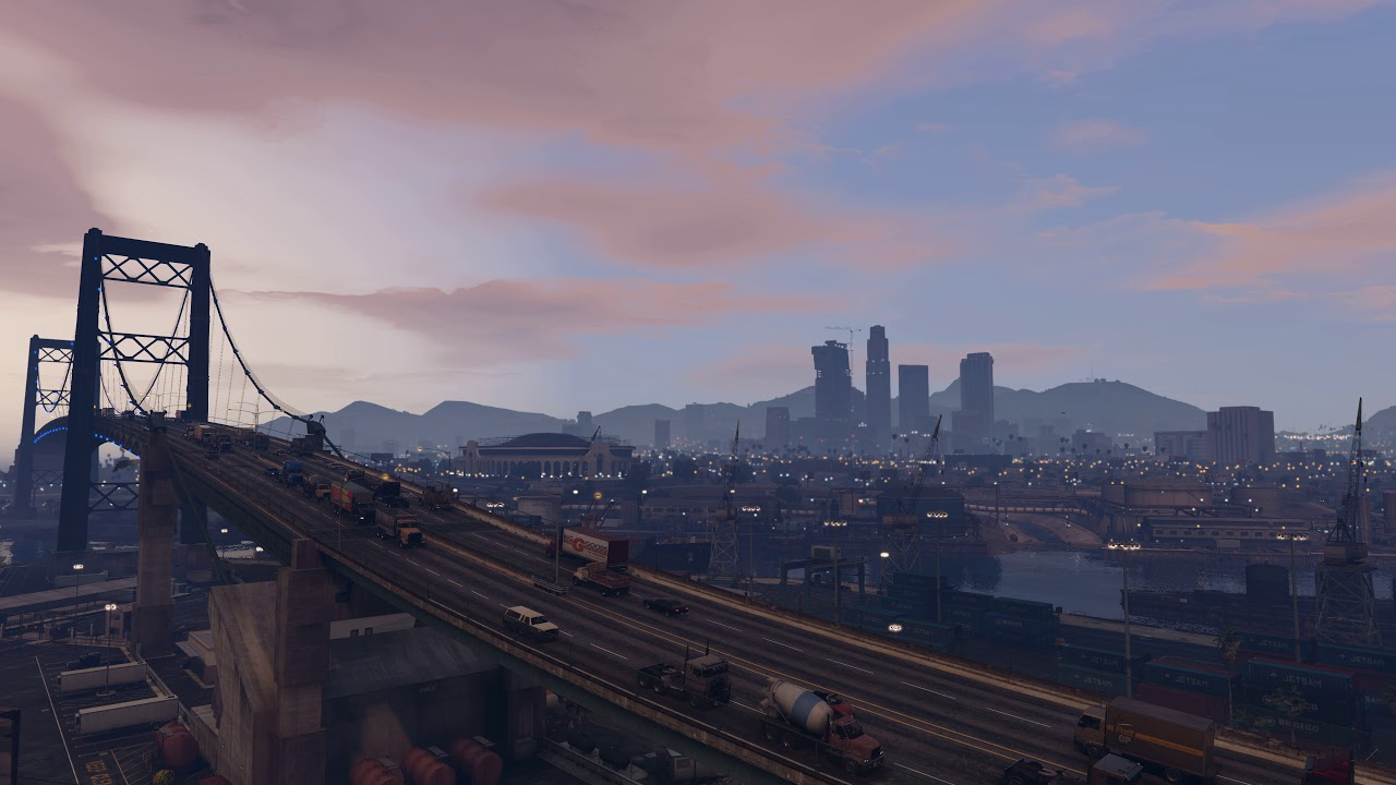 Gta 5 Live Wallpaper With City Sounds Gta V 635009 Hd