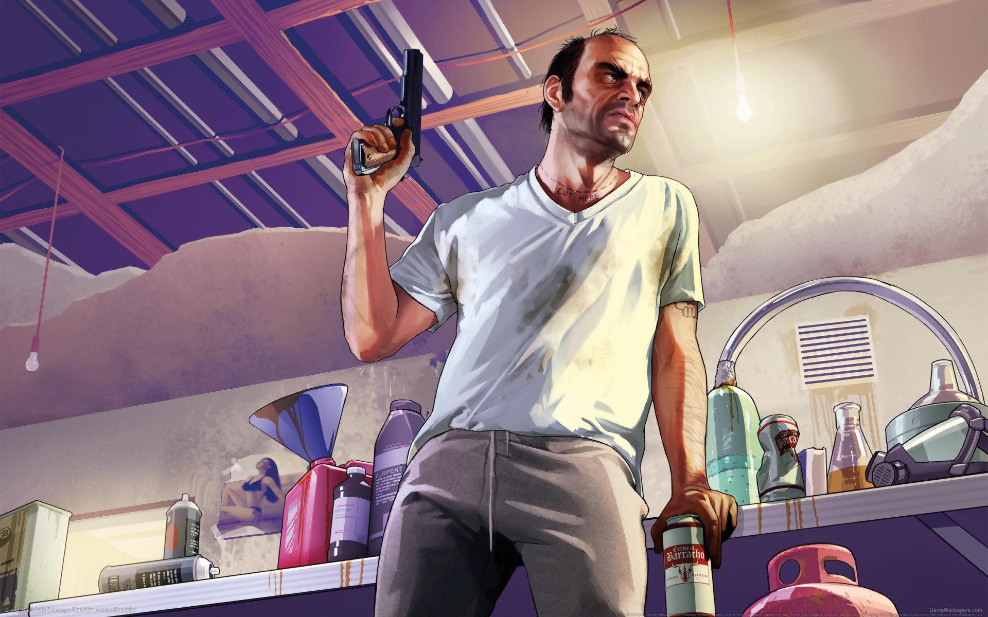 Gta 5 Wallpaper Hd - Grand Theft Auto V Artwork , HD Wallpaper & Backgrounds