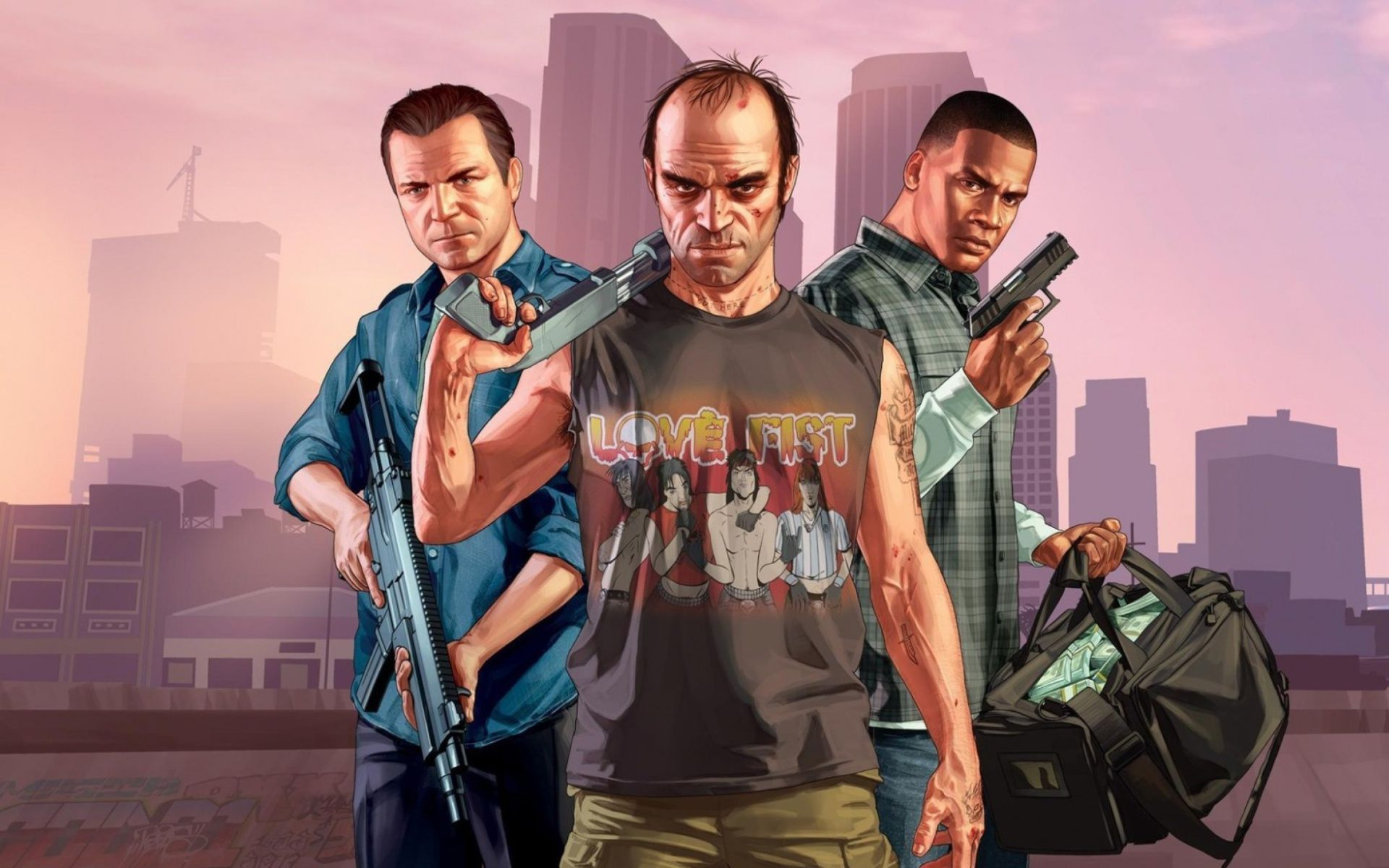 Gta 5 Wallpaper Hd 353979 - Grand Theft Auto 5 , HD Wallpaper & Backgrounds