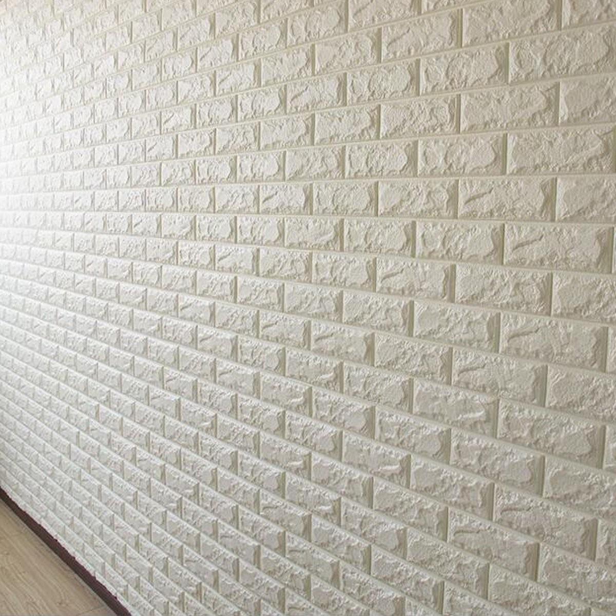 Wholesale 3d Effect Flexible Stone Brick Wall Textured Papel