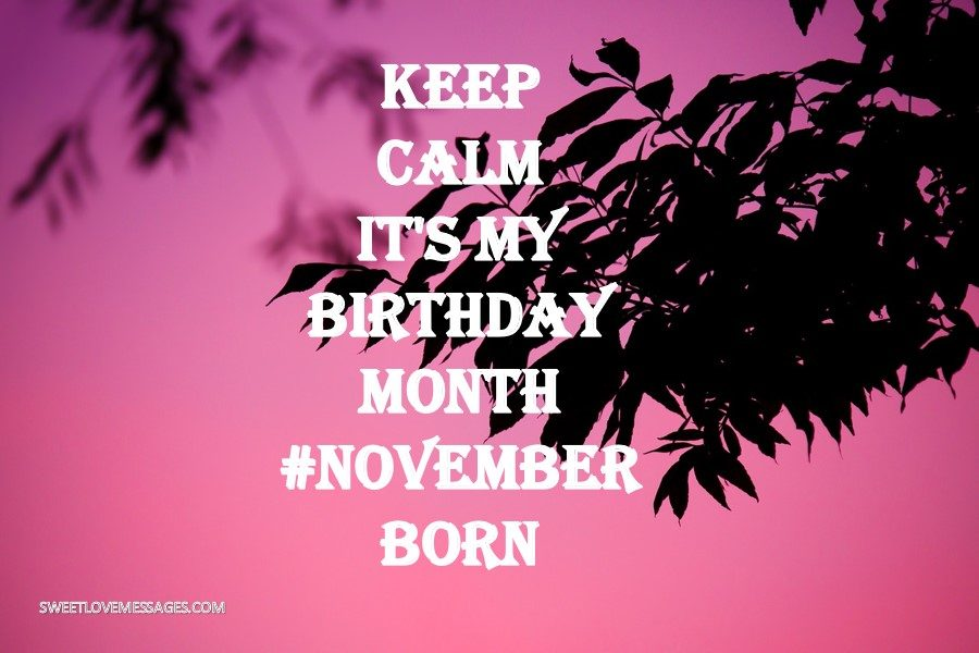 Keep Calm It's My Birthday Month November - Frases De Francisco Umbral , HD Wallpaper & Backgrounds