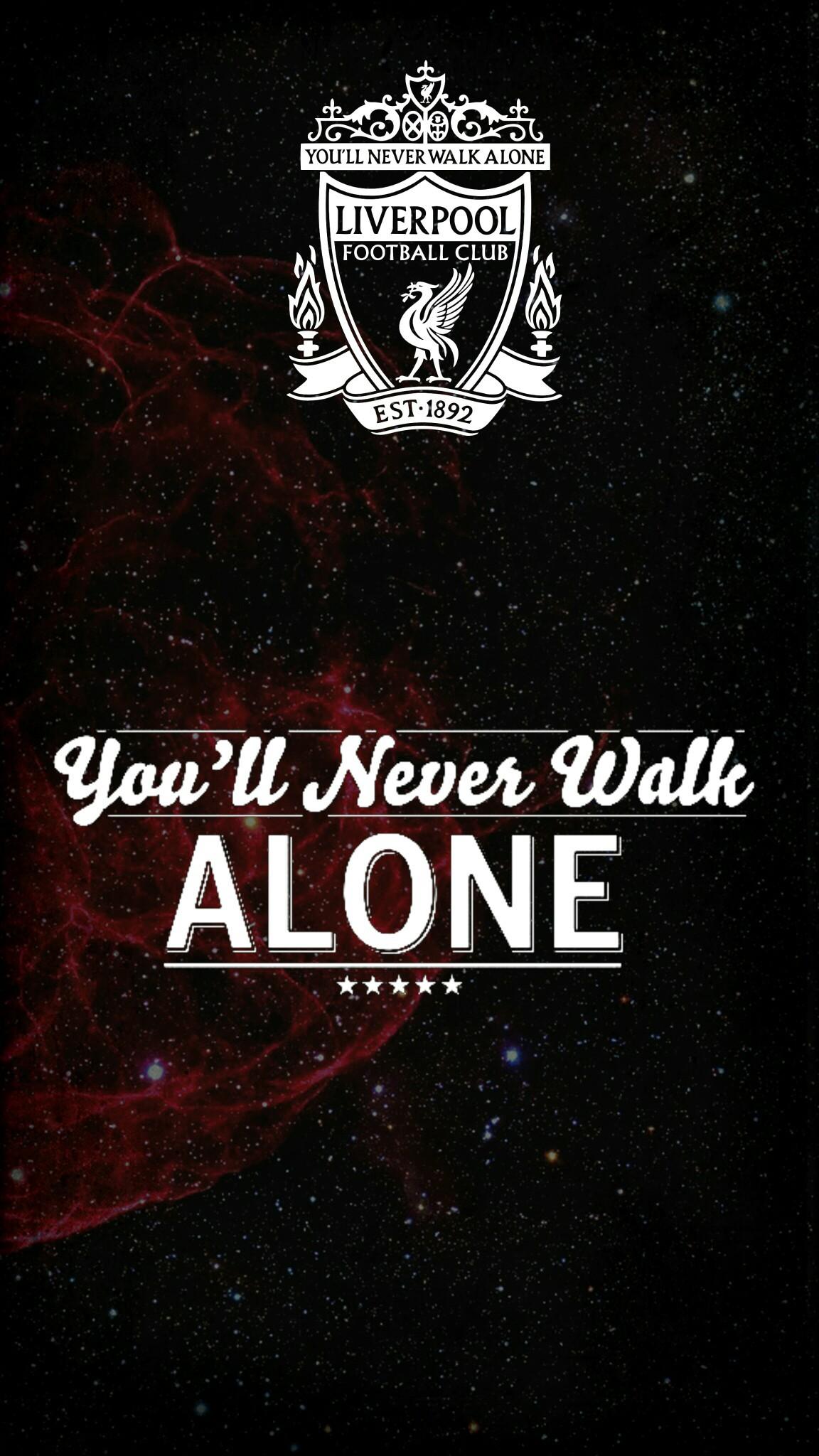 Ynwa Wallpaper You Ll Never Walk Alone Wallpaper Android