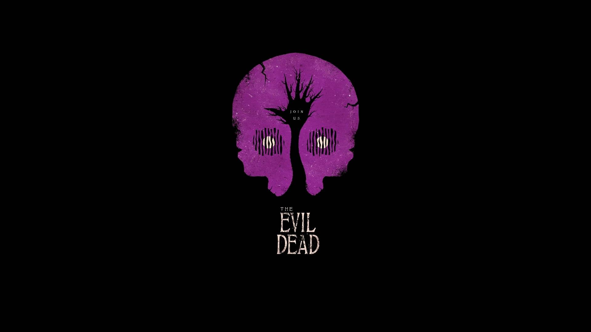 Evil Dead, Minimalism, Artwork, Movies, Black, Simple - Minimalist Wallpaper Dark Simple , HD Wallpaper & Backgrounds