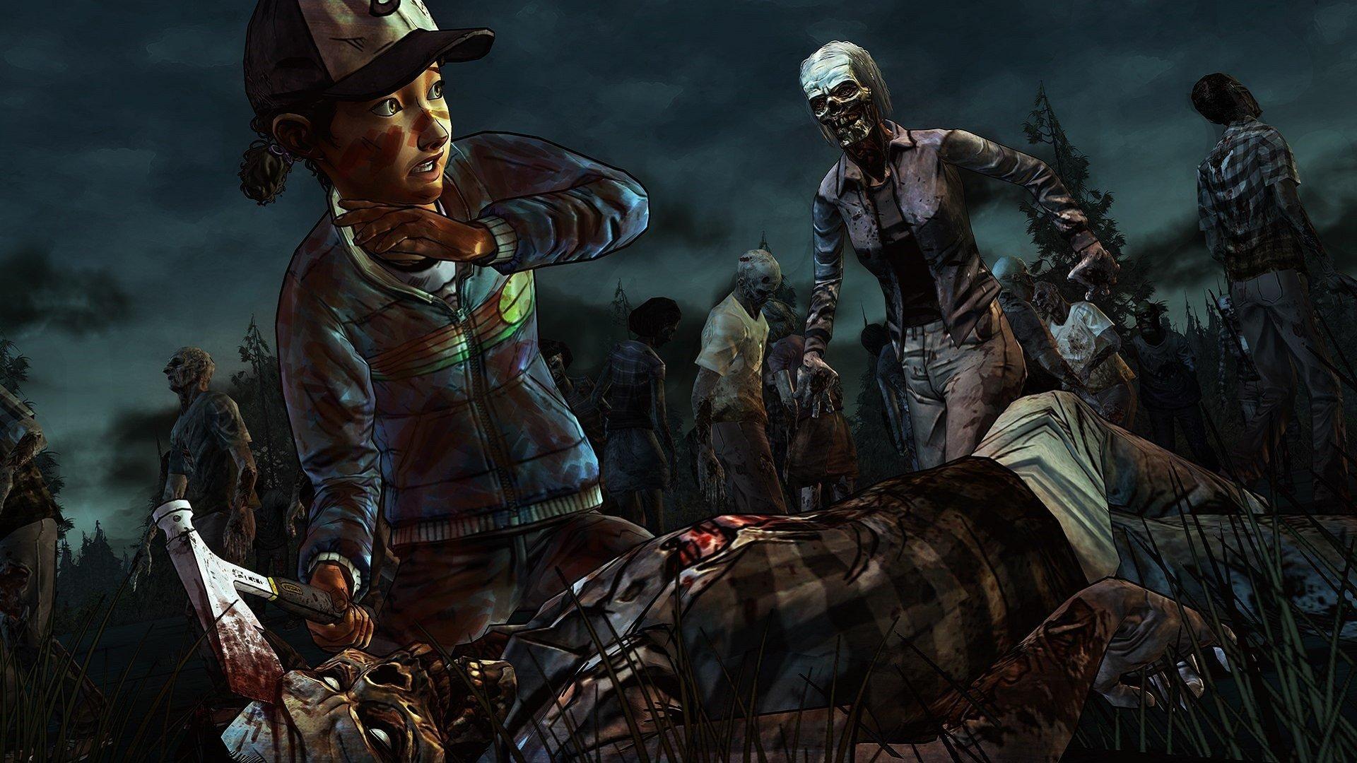 Free The Walking Dead - Walking Dead Game Zombies , HD Wallpaper & Backgrounds