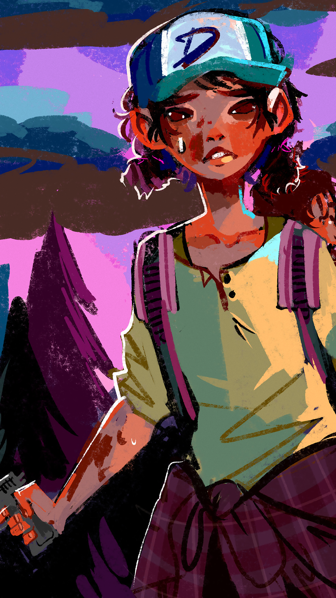 I Worked On This Wallpaper Of Clementine Twdg Clementine