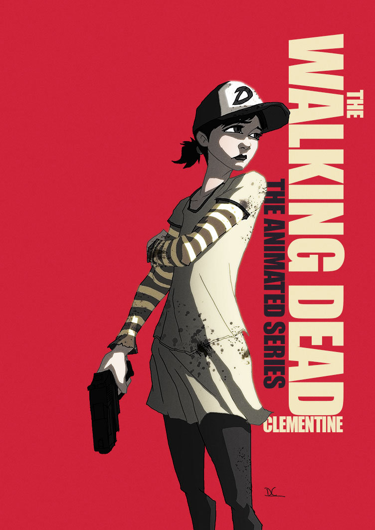 David Cousens Clementine Walking Dead Animated Walking