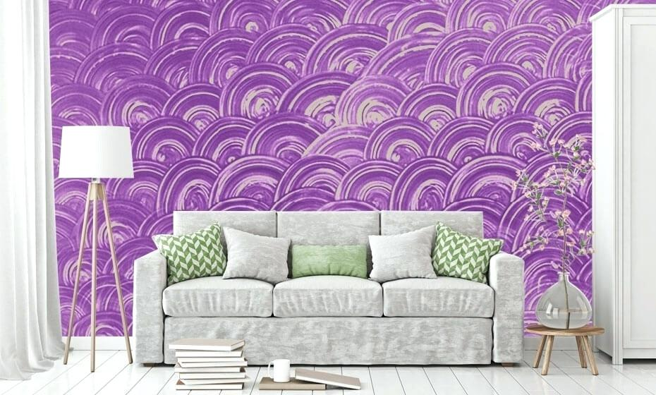 Wall Pattern Design Asian Paints Paint Play Disc Texture - Asian Paints Royale Play Texture Designs , HD Wallpaper & Backgrounds