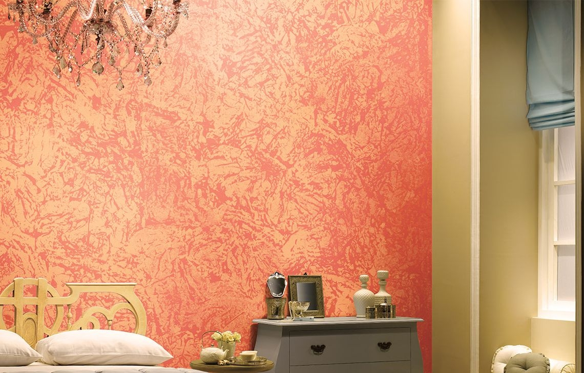 Asian Paints Latest Bedroom Wall Texture Designs Royale - Living Room Wall Texture Designs , HD Wallpaper & Backgrounds