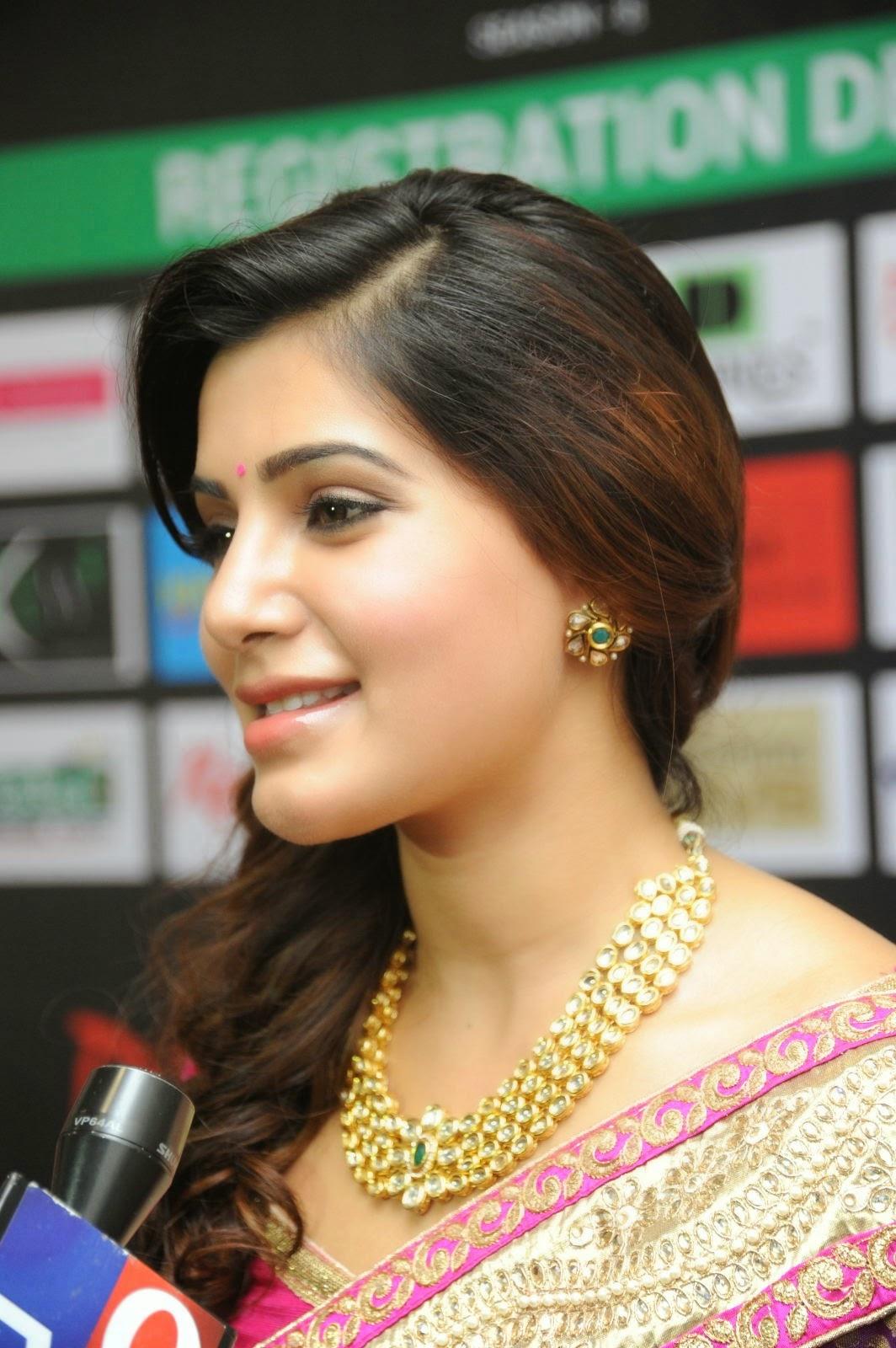 Samantha Hd Wallpapers In Saree - Samantha Hd Pics Saree , HD Wallpaper & Backgrounds