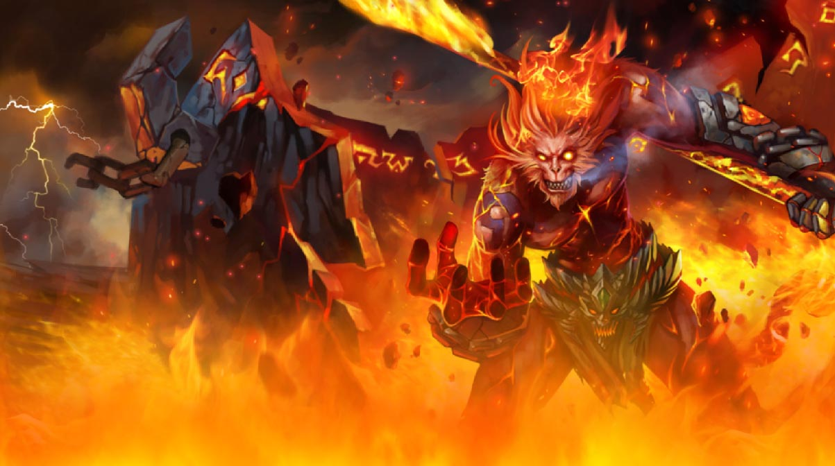 League Of Legends Animated Wallpaper Wukong Skins Lol 653488