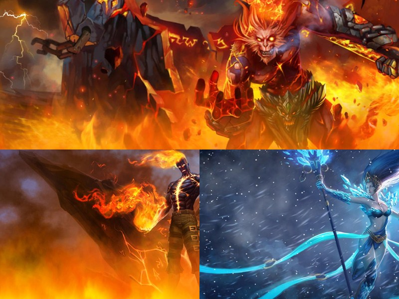 2018 League Of Legends Animated Wallpapers Sun Wukong