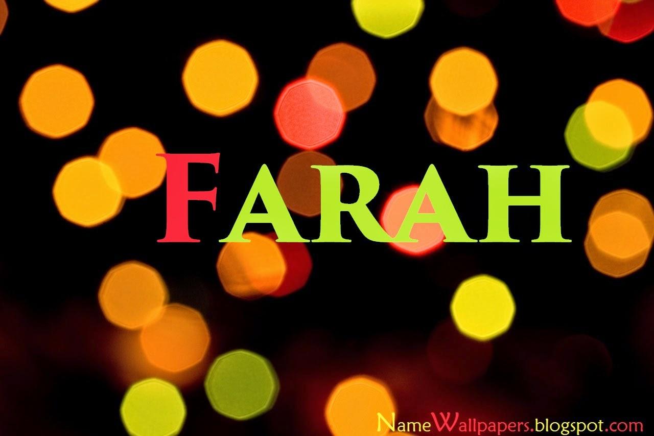 Farah Name Wallpapers Farah Circle 662125 Hd