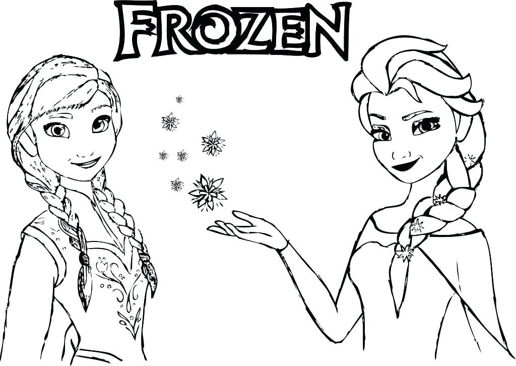 And Coloring Pages Frozen Magic Perfect Princess Ana Elsa And