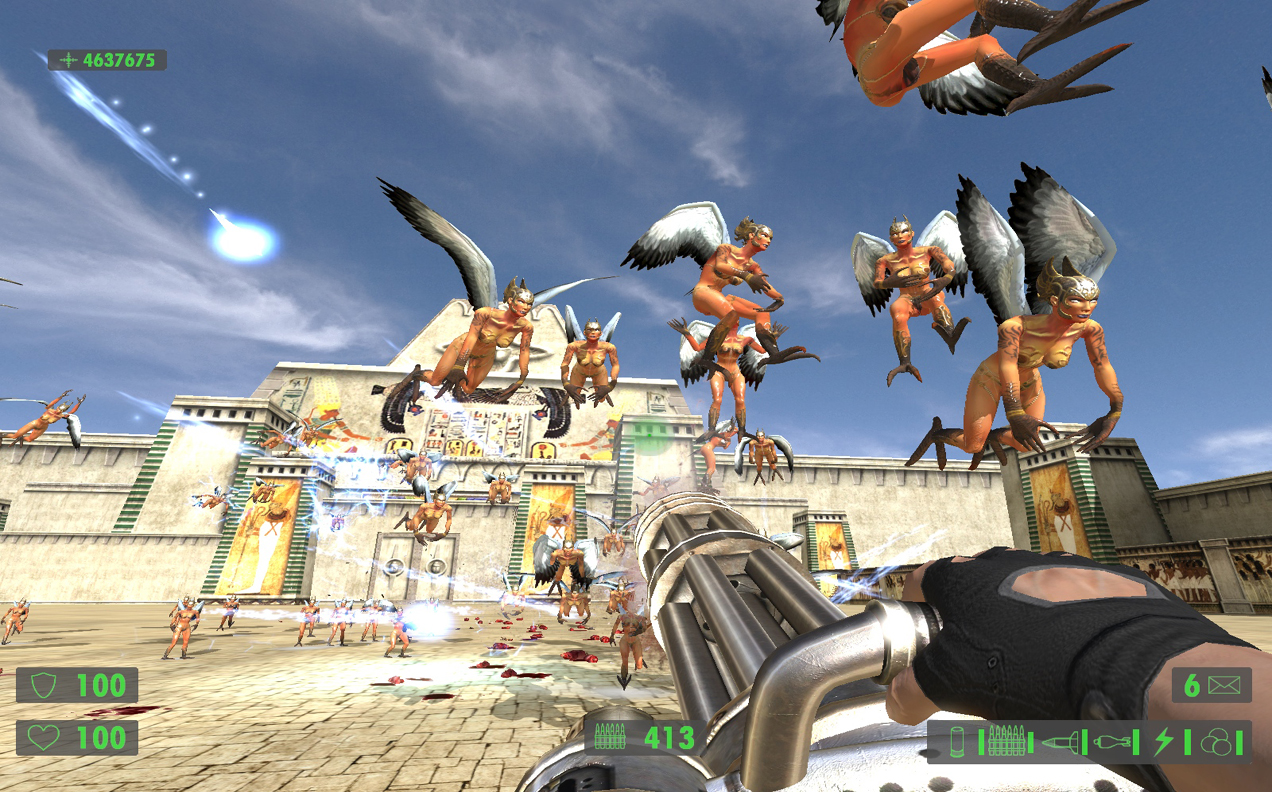 Serious Sam Hd The First Encounter , HD Wallpaper & Backgrounds
