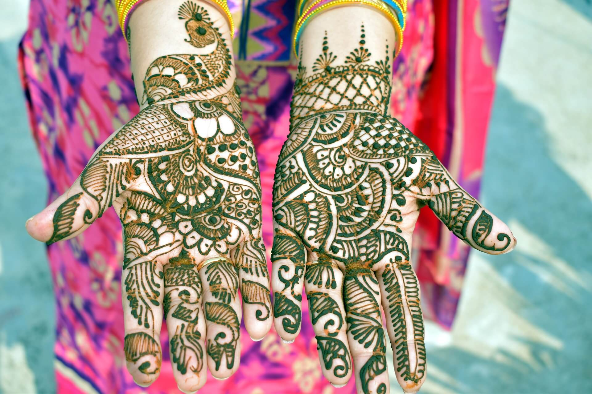 Simple Mehndi Designs For Kids , HD Wallpaper & Backgrounds