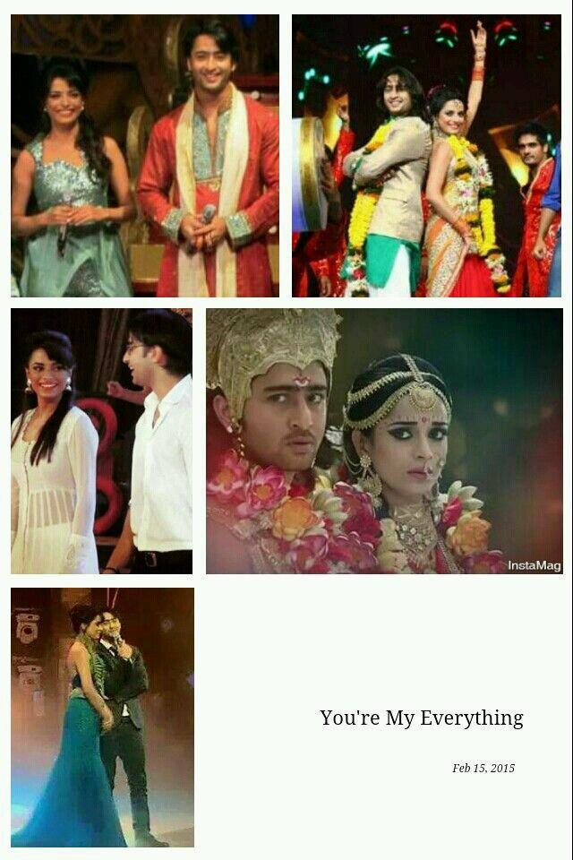 Pooja Sharma Hd Wallpapers - Shaheer Sheikh And Pooja Sharma Love , HD Wallpaper & Backgrounds